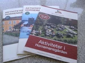 Prosjektledelse og konseptutvikling i arbeidet med magasinene for Hornemansgården.